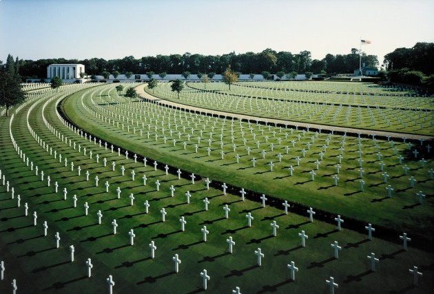 """via defense.gov """"The U.S. cemetery in Cambridge, England, contains the remains of 3,812 of American war dead from World War II."""""""